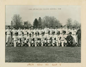 The 1969 Springfield College Baseball Team