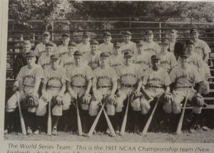 The 1951 New England Collegiate Baseball Championship Team