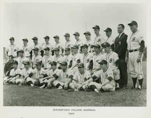 The 1968 Springfield College Baseball Team