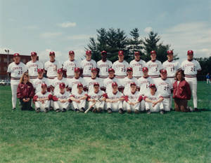 The 1992 Springfield College baseball team