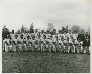 The 1973 Springfield College baseball team