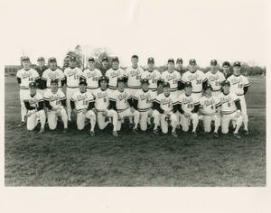 The 1986 Springfield College baseball team