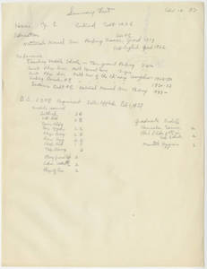 Xu Yingchao (Hsu Ying-Chao) summary sheet (April 12, 1937)