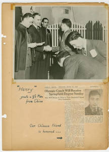 """""""Henry Greets a Y's Man from China"""" (1947)"""