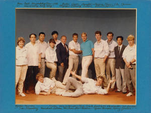 Springfield College Men's Swimming Team Far East Friendship Tour, 1986