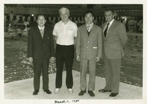 Swim Coaches from China, March 11, 1980