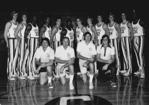 The 1974-1975 Springfield College Basketball Team