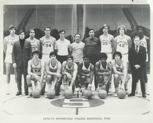 The 1972-1973 Springfield College Men's Basketball Team