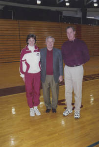 Dean Smith with Coach Graves and Coach Brock
