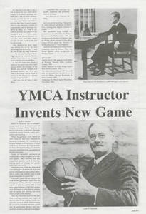 YMCA Instructor Invents New Game, by R. E. Bloom