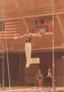 Mike Viola performing on the Rings, 1978