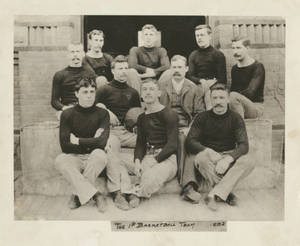 Secretarial Basketball team of Springfield College, 1892