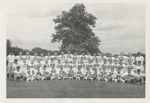 1961 Springfield College Football Team