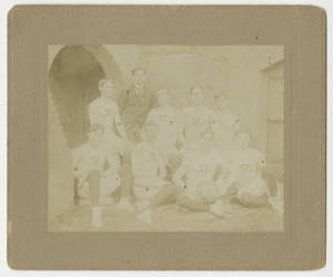 The 1897-1898 Springfield College Men's Basketball Team
