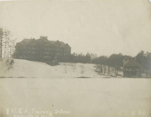 YMCA Training School and Lake Massasoit, ca. 1904