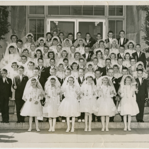 Kendra Family: First Communion