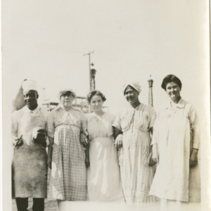 Camp MacArthur - Waco, Texas - World War I - Culinary Staff