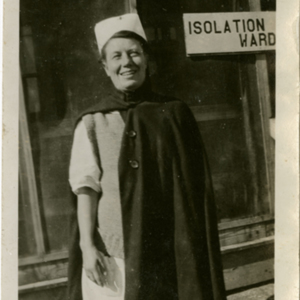 Camp MacArthur - Waco, Texas - World War I - A nurse