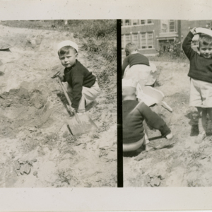 Patrick E. Bowe Nursery School - Students from 1935 - 1938 - Children at play
