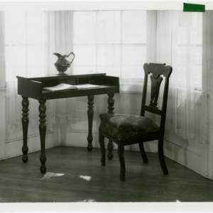 Edward Bellamy desk and chair
