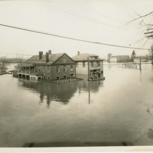 March 1936 Flood - Ferry Lane Section