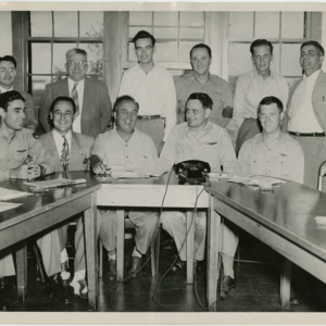 Westover Air Reserve Base - a meeting of command officers and civic leaders