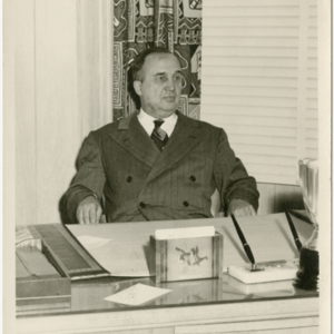 Anthony J. Stonina - at his desk