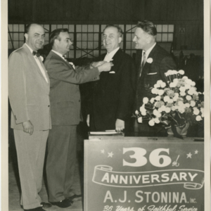 Anthony J. Stonina - 36th Anniversary Award