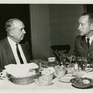Anthony J. Stonina - dinner meeting with Air Reserve officer