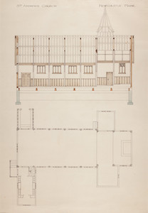 Elevation and Floorplan