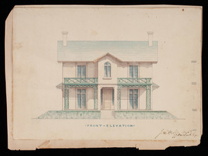 Joseph Collins Wells architectural drawings