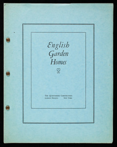 English garden homes, The Queensboro Corporation, Jackson Heights, New York
