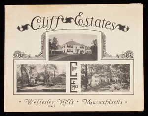 Cliff Estates, Wellesley Hills, 120 Cliff Road, Wellesley, Mass.