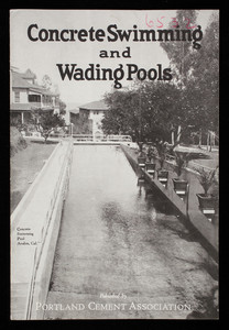 Concrete swimming and wading pools, published by Portland Cement Association