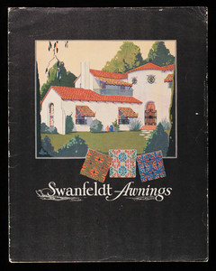 Swanfeldt awnings, Swanfeldt Tent and Awning Co., Los Angeles, California