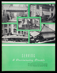 Serving a discriminating clientele, Dandux Awnings, C.R. Daniels, Inc., 101 Crosby Street, New York, New York
