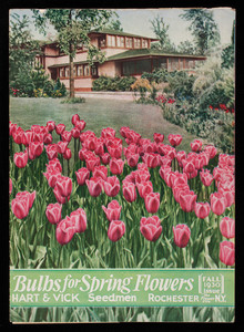 Bulbs for spring flowers, fall 1930 issue, Hart & Vick, seedmen, Rochester, New York