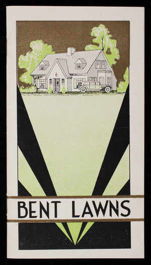 Bent lawns, 3rd edition, O.M. Scott & Sons Co., Marysville, Ohio