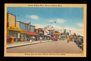 Great White Way, Revere Beach, Mass.