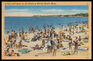 A Day well spent on the Beach at Revere Beach, Mass.