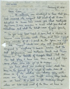 Letter from Maida Riggs to Joan Campbell