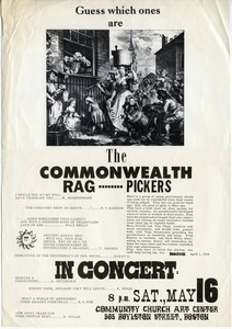 Guess which ones are the Commonwealth Rag Pickers