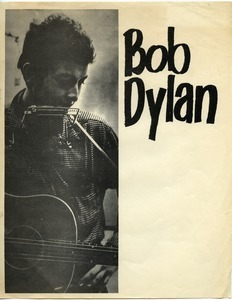 Bob Dylan [blank concert poster to be filled in]