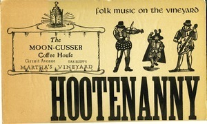 Hootenanny: The Moon-Cusser Coffee House