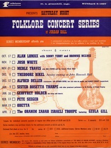 Folklore concert series at Jordan Hall