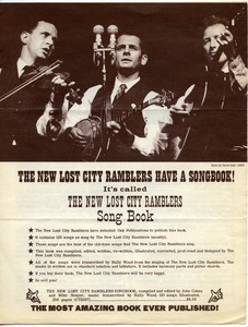 The New Lost City Ramblers have a songbook!