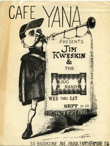 Cafe Yana presents Jim Kweskin and the Jug Band