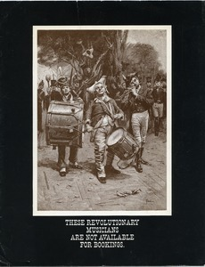 These revolutionary musicians are not available for booking... Thee revolutionary musicians are [the New World Singers]
