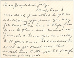 Letter from Clara M. Langland to Joseph and Judith G. Wood Langland