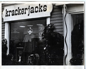 Exterior of Krackerjacks' Cambridge location